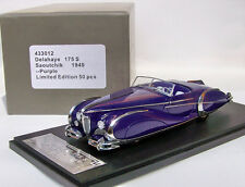 1/43 Delahaye 175S Saoutchik Roadster 1949 -   -      Have 4 color Choice