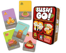 SUSHI GO! THE PICK AND PASS CARD GAME FUN FAMILY EDUCATIONAL GAMEWRIGHT GAMES