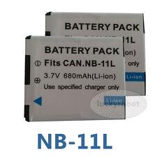 2X PK NB-11L Battery for Canon IXUS 275 HS 165 HS 170 160 PowerShot SX410 HS
