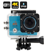 "Wifi 4K Ultra SJ9000 Waterproof Sports Action Camera 2.0"" LCD HD 1080P DVR Blue"