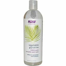 Vegetable Glycerine - 473ml by Now Solutions - Softens, Cleanses & Moisturises