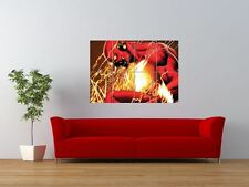 THE FLASH COMIC BOOK CARTOON CHARACTER GIANT ART PRINT PANEL POSTER NOR0021