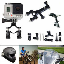 Outdoor Sport Cycling Bicycle Bike Handlebar Clamp for GoPro Hero 4/3/2/1 Camera