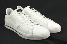 Mens NIKE Sweet Classic Size 15 White Leather Mesh w/Black Accent Casual Shoes