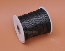 Wholesale 2MM Wax line Waxed Cord Beading String fit Bracelet Necklace