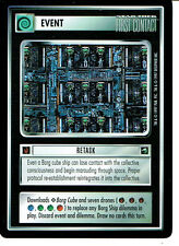 STAR TREK CCG FIRST CONTACT RARE CARD RETASK