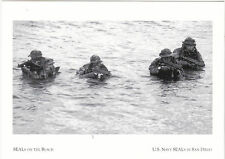 "~Post Card~""SEALS on Beach"" /The Fire Team/ US Navy Seals- San Diego, CA. (#10)"