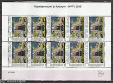 2751 vel Persoonlijke postzegel NVPV 2016 Noordzeesluizen Postfris MNH