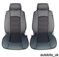 BLACK PREMIUM PADDED SEAT COVERS FOR LAND RANGE ROVER FREELANDER DISCOVERY