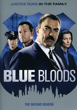 Blue Bloods: The Second Season [6 Discs] DVD Region 1, NTSC