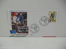 MONDIALI CICLOCROSS  ITALIA 2003 BUSTA FDC FILAGRANO ANNULLO MONOPOLI