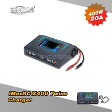 iMaxRC X400 Touch Screen 400W LiPo NiCd Battery Balance Charger Discharger F8P5