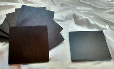 10 10cm Square  NATURAL WELSH SLATE COASTERS ready to laser print paint engrave
