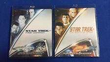 Star Trek Blu-ray Lot of 2 Sci-Fi Movies Used Fast Ship!!