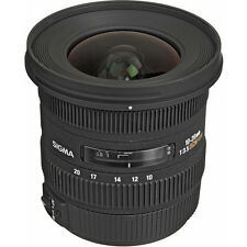 SIGMA 10-20mm f/3.5 EX DC WIDE ANGLE Lens NIKON + 4 YEAR WARRANTY D5500 D3300