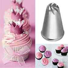 Simple Drop Flower Icing Piping Nozzles Tips Cake Cupcake Decorating Pastry Tool