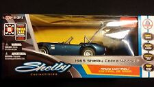 1965 Shelby Cobra 427 S/C Blue / Remote Radio Control RC Car 1:24 FORD LICENSED