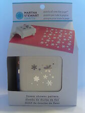 NEW MARTHA STEWART FLOWER SHOWER PATTERN PUNCH ALL OVER THE PAGE 42-91006
