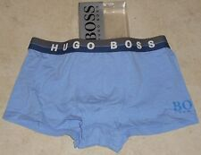 HUGO BOSS Cotton Stretch Boxer Short/Trunk - Large,  blue