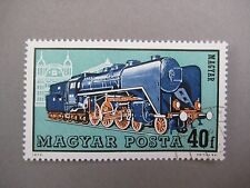 Vintage collectible stamp, Train, Hungarian stamp, MAGYAR POSTA, 1972