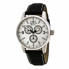 Invicta Gent's 7021 Signature II Black Leather Strap Watch