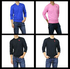 New Abercrombie A&F by Hollister Men Crew & V Neck Sweaters Cardigan Muscle Size