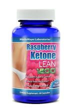 RASPBERRY KETONE LEAN Advanced Fat Weight Loss 1200 mg 60 CAPS MaritzMayer Lab