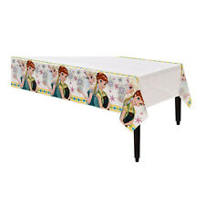 "54"" x 96"" Disney's Frozen Fever Birthday Party Plastic Disposable Table Cover"