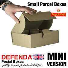 100 x MINI Size Royal Mail SMALL PARCEL BOXES PiP Postal Packet 210mmX157mmX73mm