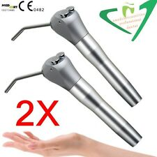 2 x Dental Syringe Air Water Spray Triple 3 Way Handpiece +Nozzles Tips Tubes US