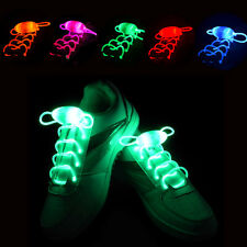 5 Pairs/Lot LED Shoelace Party Flash Light Up Waterproof Glow Stick Shoestring
