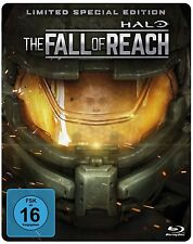 HALO-THE FALL OF REACH (LTD.STEELBOOK-ED  BLU-RAY NEU