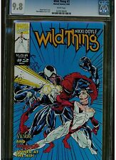 WILD THING #2 CGC 9.8 WHITE PAGES SPIDER-MAN VENOM APPEARANCE 1993 NIKKI DOYLE