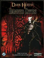2009 Warhammer 40K RPG: Dark Heresy -Damned Cities Hardcover
