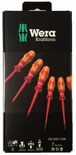 Wera 160 iSS/7 screwdriver set Kraftform Plus Series 100 reduced shanks