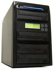 3 Burner 24X CD DVD Disc Duplicator Copier Replication Duplication Tower System
