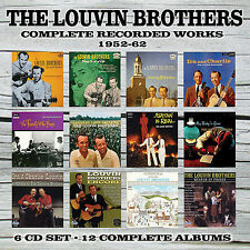 LOUVIN BROTHERS New Sealed 2016 COMPLETE RECORDINGS 1952 -62 6 CD BOXSET