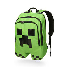 Minecraft Creeper School Backpack Waterproof Bag Sports Storage Boys Schoolbag