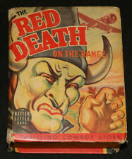 1940 Big Little Book The Red Death on the Range #1449 VG