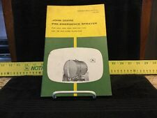 Vintage John Deere Pre-Emergence Planter Dealership Operators Manual - OM B68