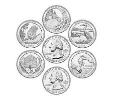 2015-P National Park Quarters 5 Coin Set