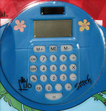 DISNEY PARKS LILO STITCH CALCULATOR & MOUSEPAD DISNEY 2 PC KIDS EDUCATIONAL TOY