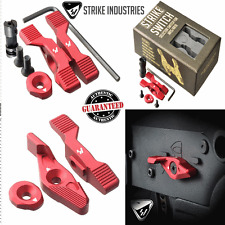 Strike Industries SWITCH RED Ambi Safety Ambidextrous 60 90 degree operation