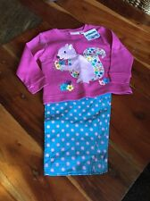 Jojo Maman Bebe Baby Girls Pyjamas 12-18m New