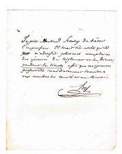 MAXIMILIEN PROSPER FOY (NEVEU DU GENERAL) REPRESENTANT DU BAS-RHIN EN 1848