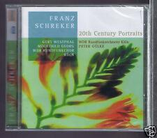 FRANZ SCHREKER CD NEW 20TH CENTURY PORTRAITS / MECHTCHILD/ PETER GULKE