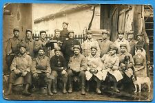 CPA PHOTO: 413° Régiment d'Infanterie - 4°/3° Escouades / Guerre 14-18 / 1915