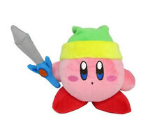 "Sale! Sanei Kirby's Dream Land All Star Collection - KP09 - 4"" Sword Kirby Plush"