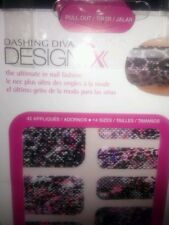 DASHING DIVA DESIGN FX DFX011 ANIMAL EXHIBITION 42 FINGER & TOE NAIL APPLIQUES