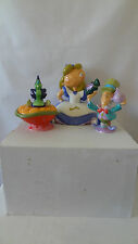 Walt Disney Alice in Wonderland Teapot and Creamer and Sugar Set MIB #C75